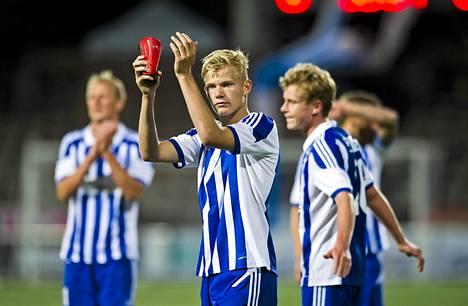 Joel Pohjanpalo palaa HJK:n kokoonpanoon.