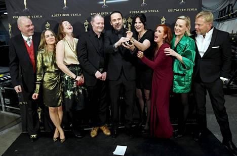 Parhaan draamasarjan palkinnon voitti Keisari Aarnio.