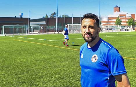 AC Kajaaniin siirtynyt Erfan Zeneli pelasi lauantaina täydet minuutit.