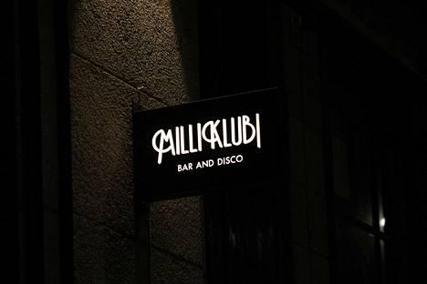 Milliklubi sijaitsee Helsingin Kaivokadulla.