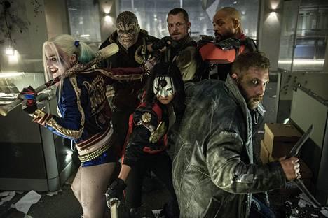 Suicide Squad -elokuvaa on kritisoitu muun muassa ohuista henkilöhahmoista.