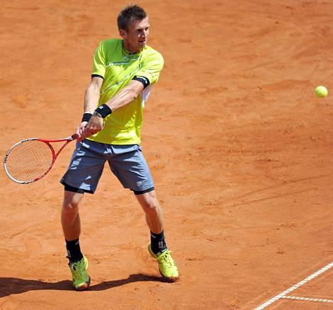 Jarkko Nieminen kuittasi Saksasta 150 ATP-pistettä. Hän nousee uudella listalla 40 parhaan joukkoon.
