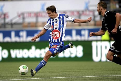 Joel Perovuo palaa FC Honkaan.