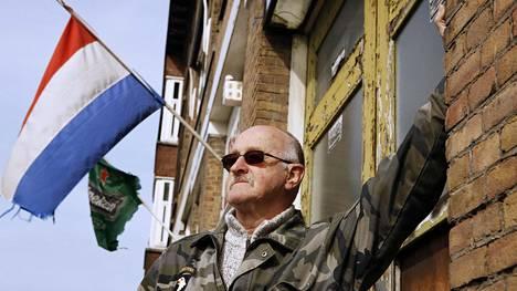 """Evert Kool, 70, suuttui, kun Turkin presidentti Recep Tayyip Erdoğan syytti hollantilaisia """"natsien jäänteiksi""""."""