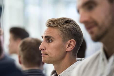 Valtteri Filppula on pelannut aiemmin vain yhdet MM-kisat, vuonna 2012.