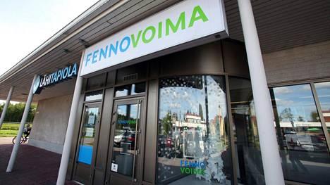 Fennovoiman toimisto kuvattiin Pyhäjoella 2018.