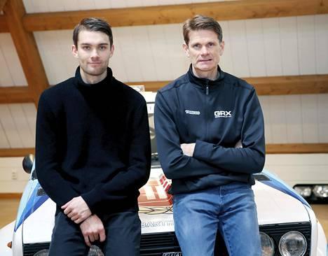 Niclas Grönholm ajaa rallicrossin MM-sarjaa isänsä Marcus Grönholmin tallissa.
