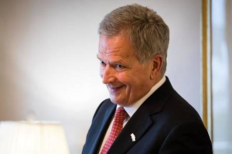 Sauli Niinistö kuvattuna 22. lokakuuta 2019.