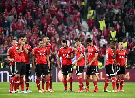 Benfican kausi Eurooppa-liigassa päättyi pettymykseen.