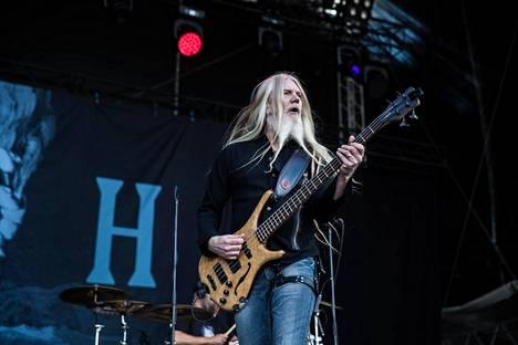 Marko Hietala on soittanut Nightwishissä 2000-luvun alusta lähtien.