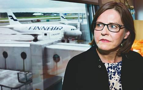 """Valtion omistajaohjauksesta vastaava ministeri Heidi Hautala kommentoi Finnairin toimitusjohtajan asuntokauppajutun ratkeamista maanantaina lentokentällä palattuaan työmatkalta Etelä-Koreasta. Hautalan mielestä asuntokauppa oli """"moitittava"""", vaikkei siitä nostettu syytteitä."""