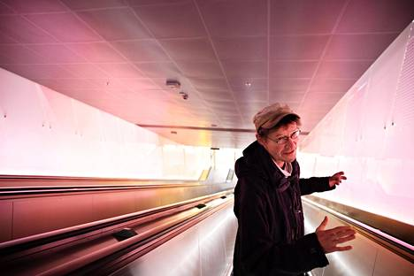 """While living in Espoo, Juha Hurme went to work by metro or on foot.  """"Metro is good, I like that.  I don't really understand what can race people on the subway.  It goes underground and is quite quiet and ecological and efficient, even if it requires a big investment at the beginning. """""""