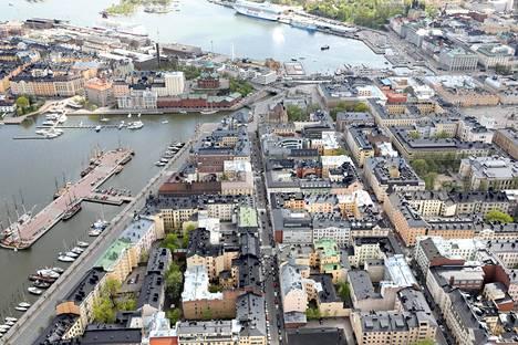 Viiden kilometrin säteellä Helsingin keskustasta asuu huomattavasti vähemmän ihmisiä kuin muiden Pohjoismaiden pääkaupunkien keskustojen ympärillä.