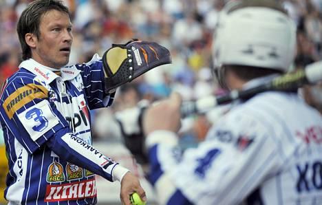 Idän lukkari Toni Kohonen pelasi ennätyksellisen 17. Itä–Länsi-ottelunsa Hyvinkäällä viime heinäkuussa.