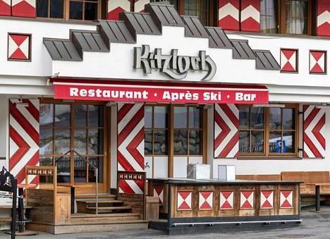 After-ski-juhlistaan tunnettu Kitzloch-ravintola sulki ovensa, kun koronaepidemia paljastui.