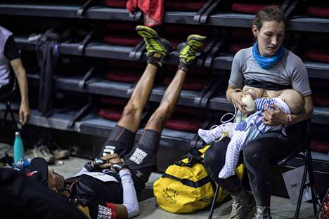 Sophie Power imetti Cormac-poikaansa kesken 170 kilometrin ultrajuoksun.