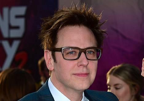 James Gunn on ohjannut Guardians of the Galaxy -elokuvasarjan kaksi ensimmäistä osaa.
