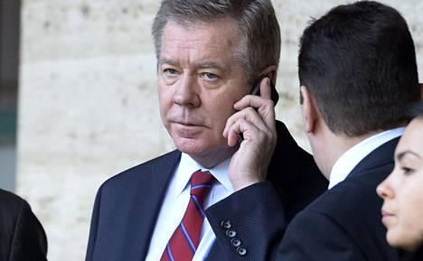 Varaulkoministeri Gennadi Gatilov edusti Venäjään Geneven neuvotteluissa keskiviikkona.