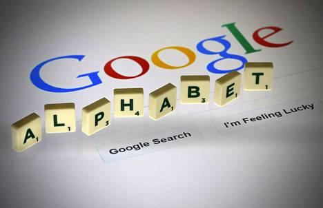 Googlen emoyhtiöstä Alphabetista on kasvamassa maailman suurin pörssiyhtiö.