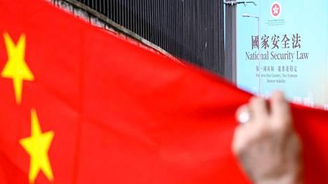 Hongkongissa kansallisen turvallisuuden lakien puolesta on kampanjoitu näyttävällä mainoskampanjalla.