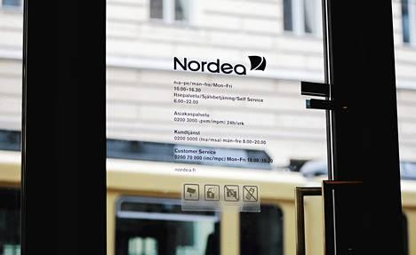 Nordean liikevoitto kasvoi 1,4 miljardiin euroon ensimmäisellä vuosineljänneksellä.