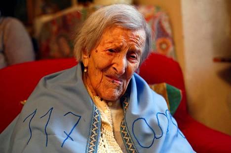 Emma Morano oli syntynyt marraskuussa 1899.