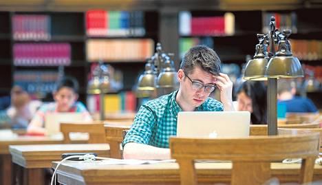 Hyvien yliopistojen lukukausimaksut ovat noin 40 000 dollaria (30 000 euroa).