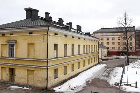 Engelin suunnittelema mittatekniikan keskuksena toiminut rakennus. Arkistokuva vuodelta 2012.