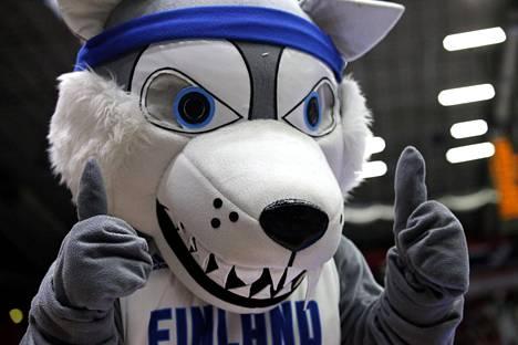 Helsingissä pelattiin 20-vuotisten EM-kisat kesällä ja silloin tällainen maskotti villitsi yleisöä.