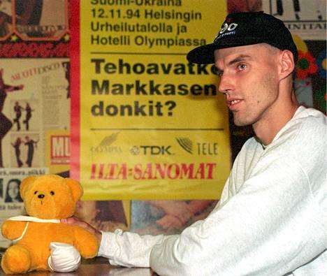 Pekka Markkanen vuonna 1994.