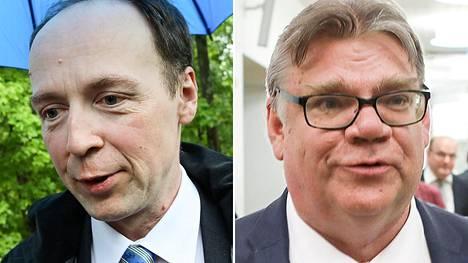 Jussi Halla-aho ja Timo Soini