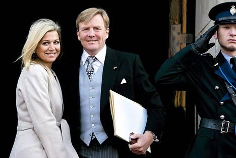 Prinssi Willem-Alexander ja prinsessa Maxima