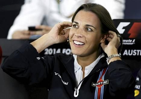 Williams-tallin apaulaispäällikkö Claire Williams on huolissaan formula ykkösten tulevaisuudesta.