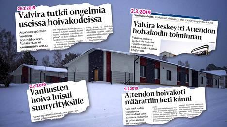 Valvira keskeytti Esperi Caren Kristiinankaupungissa sijaitsevan hoivakoti Ulrikan (kuvassa) toiminnan tammikuussa 2019.