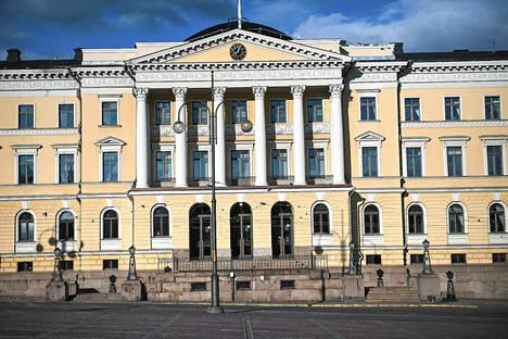 Valtiovarainministeriö toimii Valtioneuvoston linnassa Helsingin Kruununhaassa.
