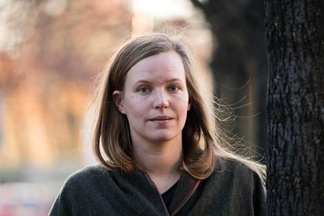 """""""En ollut filmihullu. Ammatinvalinta alkoi oikeastaan hahmottua vasta opiskellessa"""", Anna Antsalo kertoo."""
