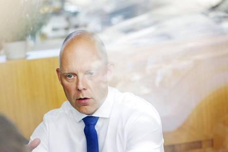 MTV:n toimitusjohtaja Jarkko Nordlund.