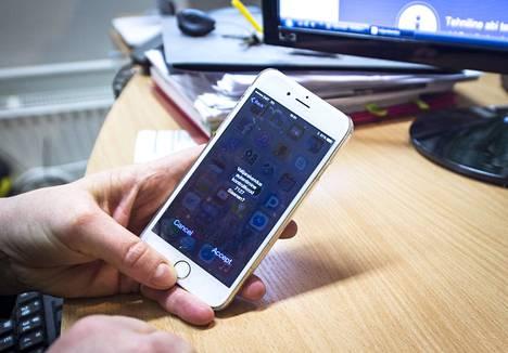 Viron nettiäänestyksessä on useita vaiheita ja turvatoimia.