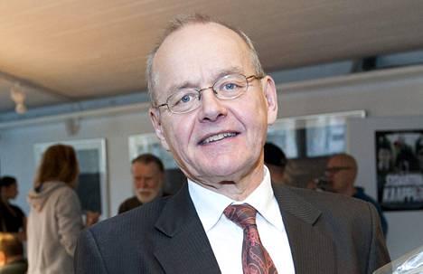 Rampe Toivonen kuvattuna 31. lokakuuta 2013, jolloin hän jäi eläkkeelle Solar Filmsistä.