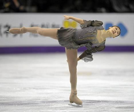 Etelä-Korean Kim Yu-na voitti naisten maailmanmestaruuden taitoluistelun MM-kisoissa Kanadassa.