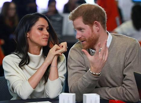 Prinssi Harry ja Meghan Markle osallistuivat kansainvälisen naistenpäivän tapahtumaan Birminghamissa viime maaliskuussa.