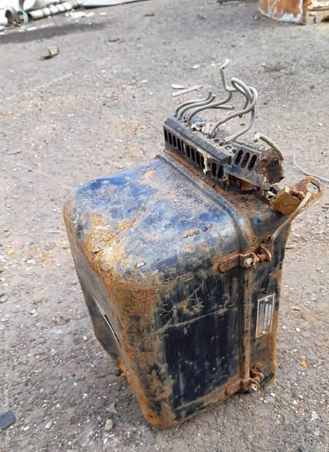 Radioaktiivista ainetta sisältävä laite löytyi liminkalaisen metallinkierrätysfirman romukuormasta.