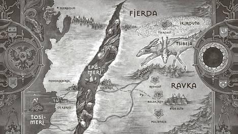Leigh Bardugon Varjo ja riipus -romaanin tapahtumat sijoittuvat fantasiamaailmaan, jossa on piirteitä venäläisestä perinteestä.