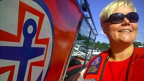 For Anni Muukkonen, her passion for the sea is the driving force behind her in maritime rescue.