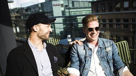 Anders Westerholm ja Matti Sarkkinen omistavat jo yhdeksän ravintolaa Helsingin kantakaupungissa. Nyt toiveissa on oma hotelli.