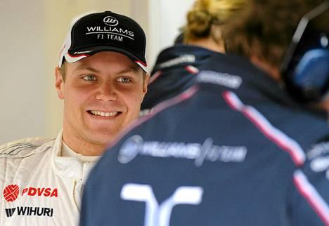 Valtteri Bottas sai F1-uransa avauspisteet.