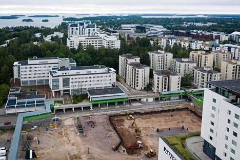 Tapiolan keskusta on vain yksi Espoon suurista rakennushankkeista.