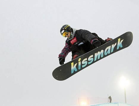 Markus Malin voitti pronssia half-pipessa lumilautailun maailmanmestaruuskilpailuissa vuonna 2013.