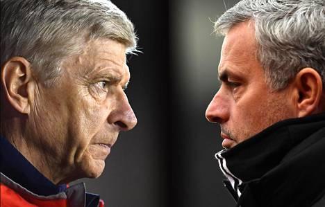 Arsène Wenger ja José Mourinho eivät ole ylimpiä ystäviä.