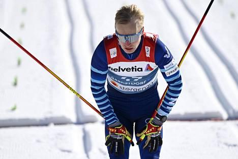 Juho Mikkonen edusti Suomea Oberstdorfin MM-kisoissa 25. toukokuuta 2021.